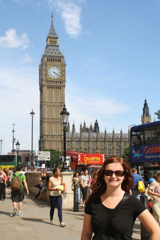 Big Ben London Au Pair
