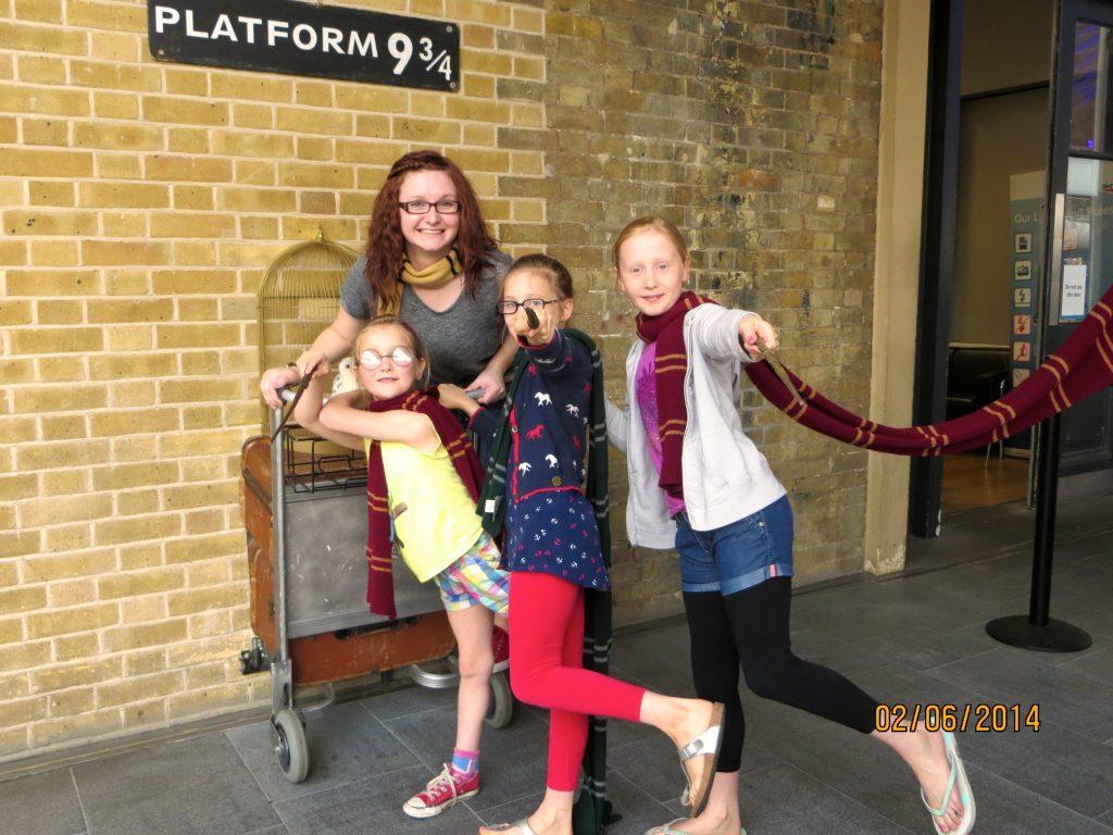 Platform 9 3/4 London Harry Potter